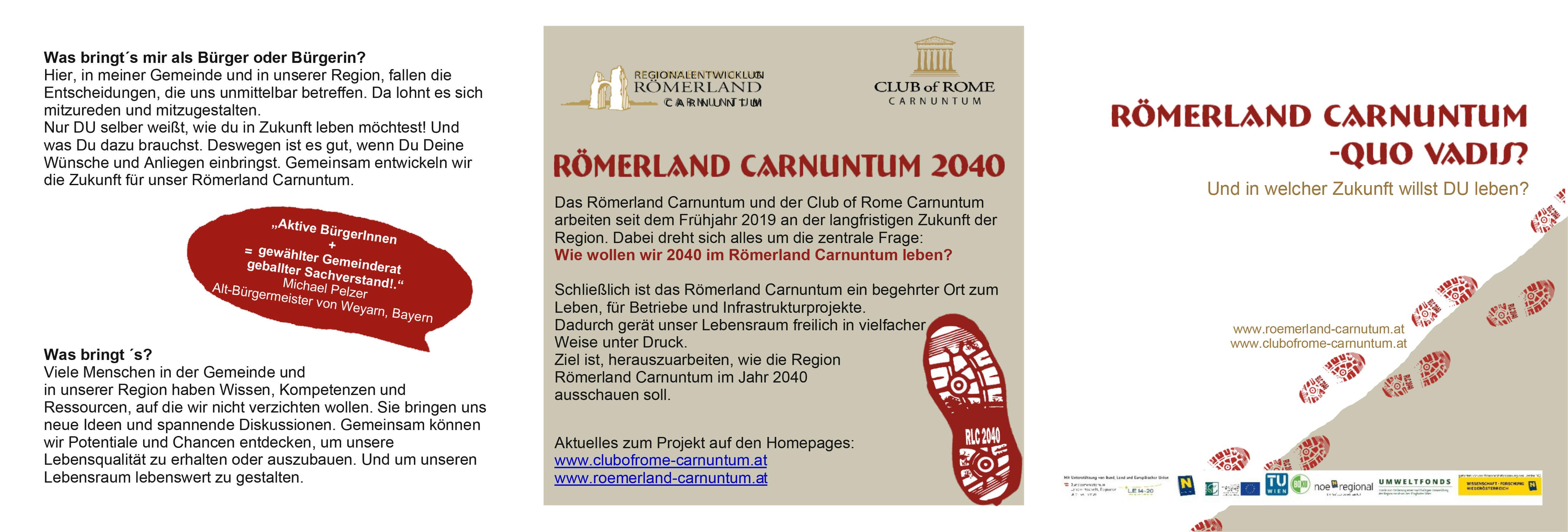 Poster: Römerland Carnuntum