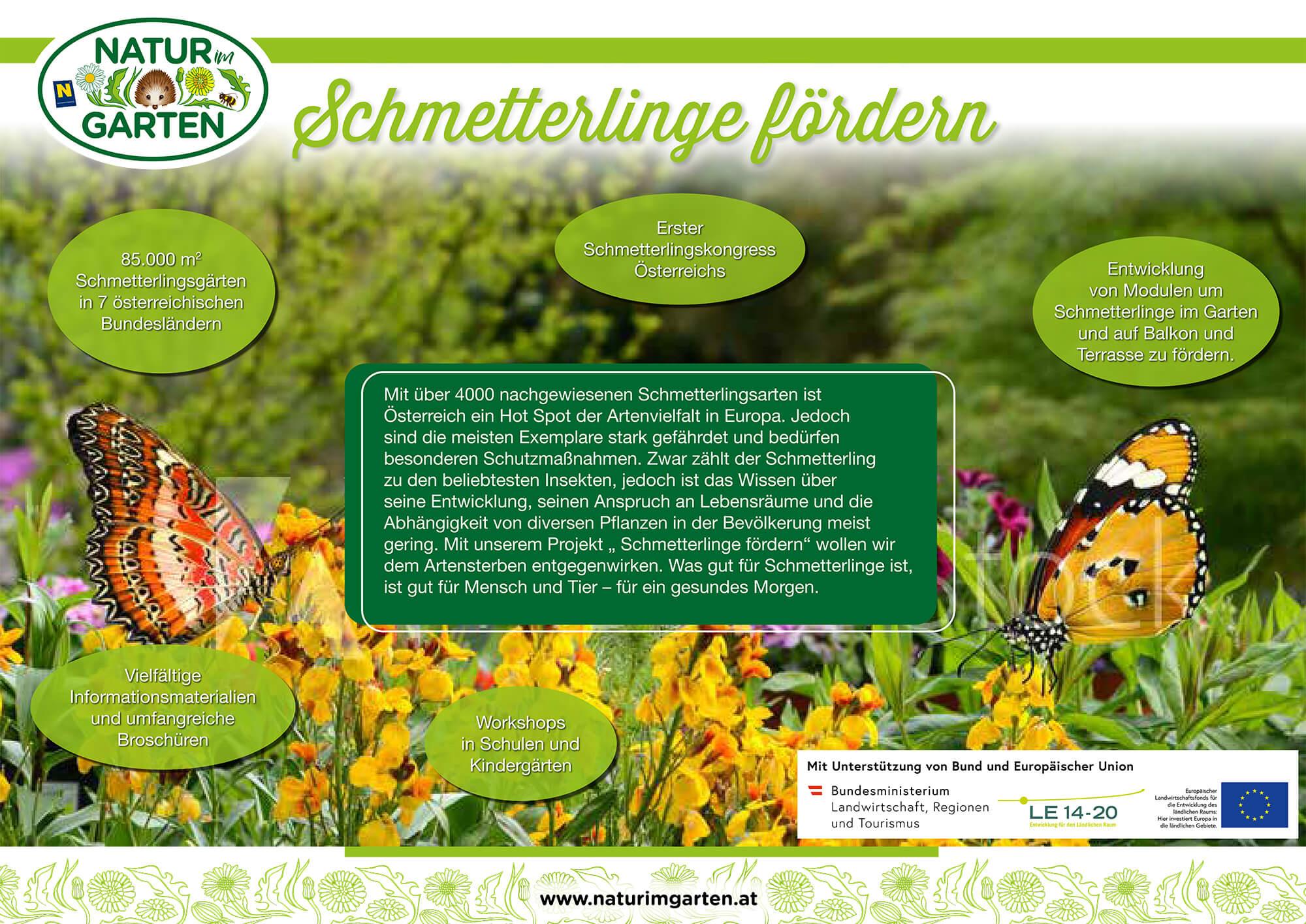 Poster: Natur im Garten
