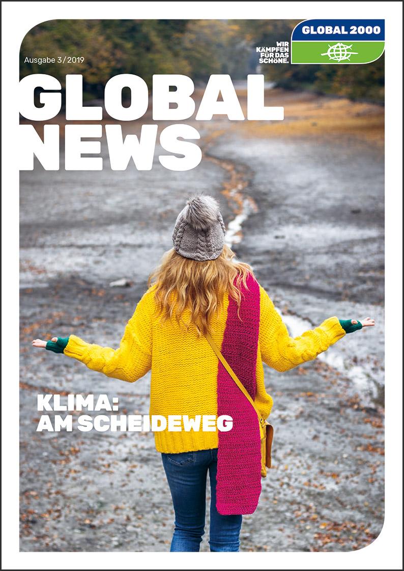 GLOBAL NEWS Titelblatt