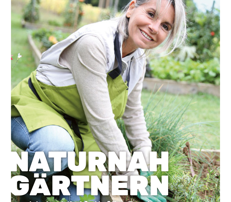 Naturnah Gärtnern Broschüre