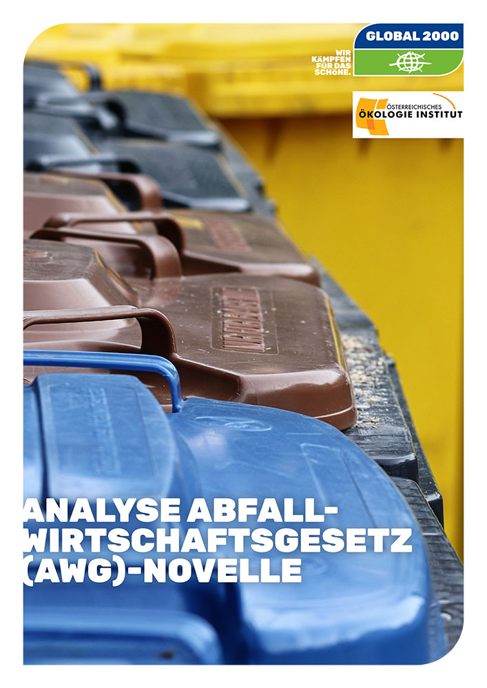 Cover Analyse AWG-Novelle
