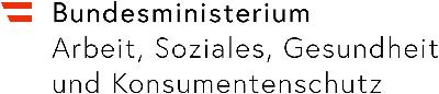 Logo Bundesministerium für Arbeit, Soziales, Gesundheit und Konsumentenschutz