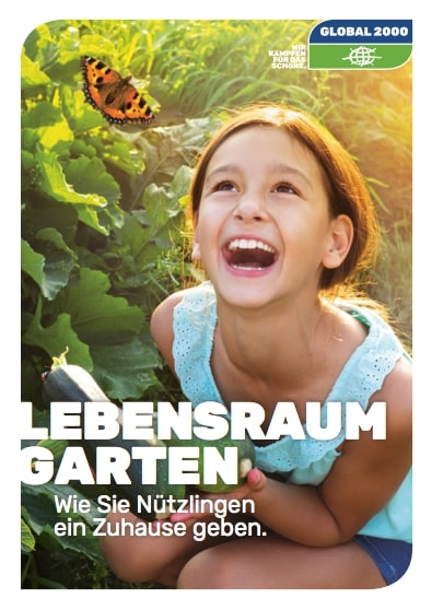 Broschüre Lebensraum Garten