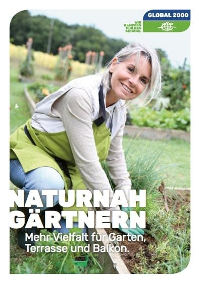Broschüre Naturnah Gärtnern