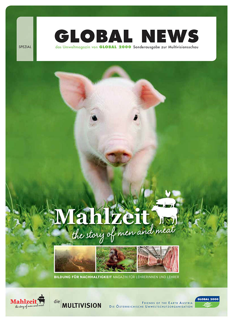 Cover Mahlzeit - the story of men and meat