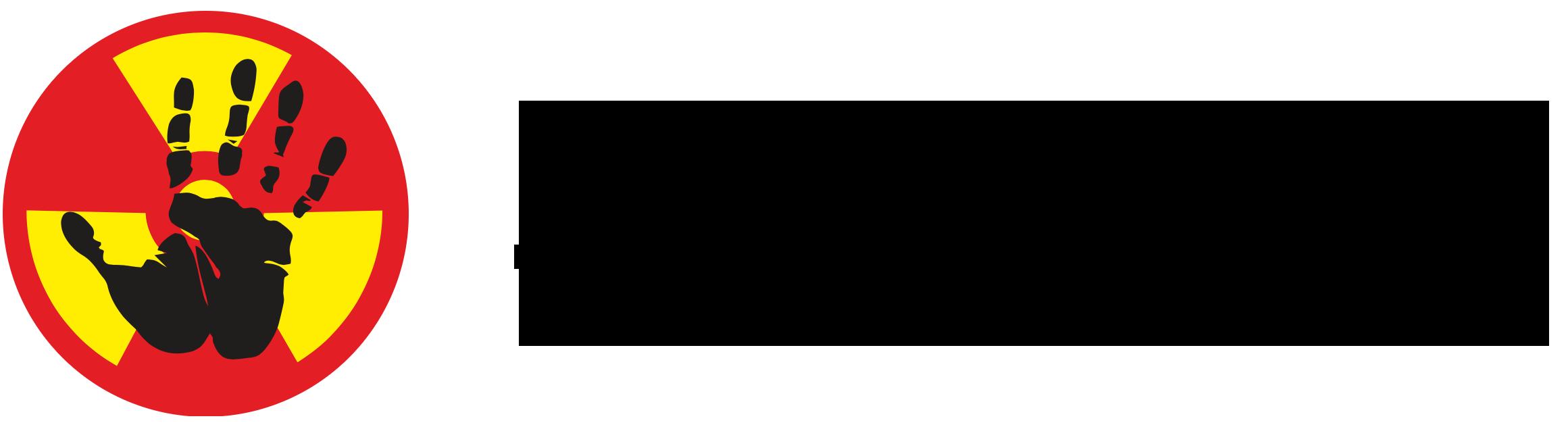 Logo Don't nuke the climate