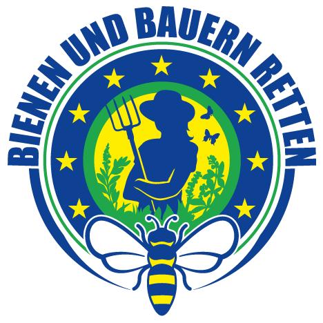 """Logo Europäische Bürgerinitiative """"Bienen & Bauern retten"""""""