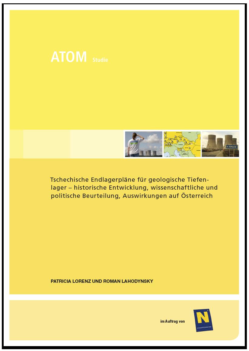 Studie: Tschechische Endlagerpläne für geologische Tiefenlager