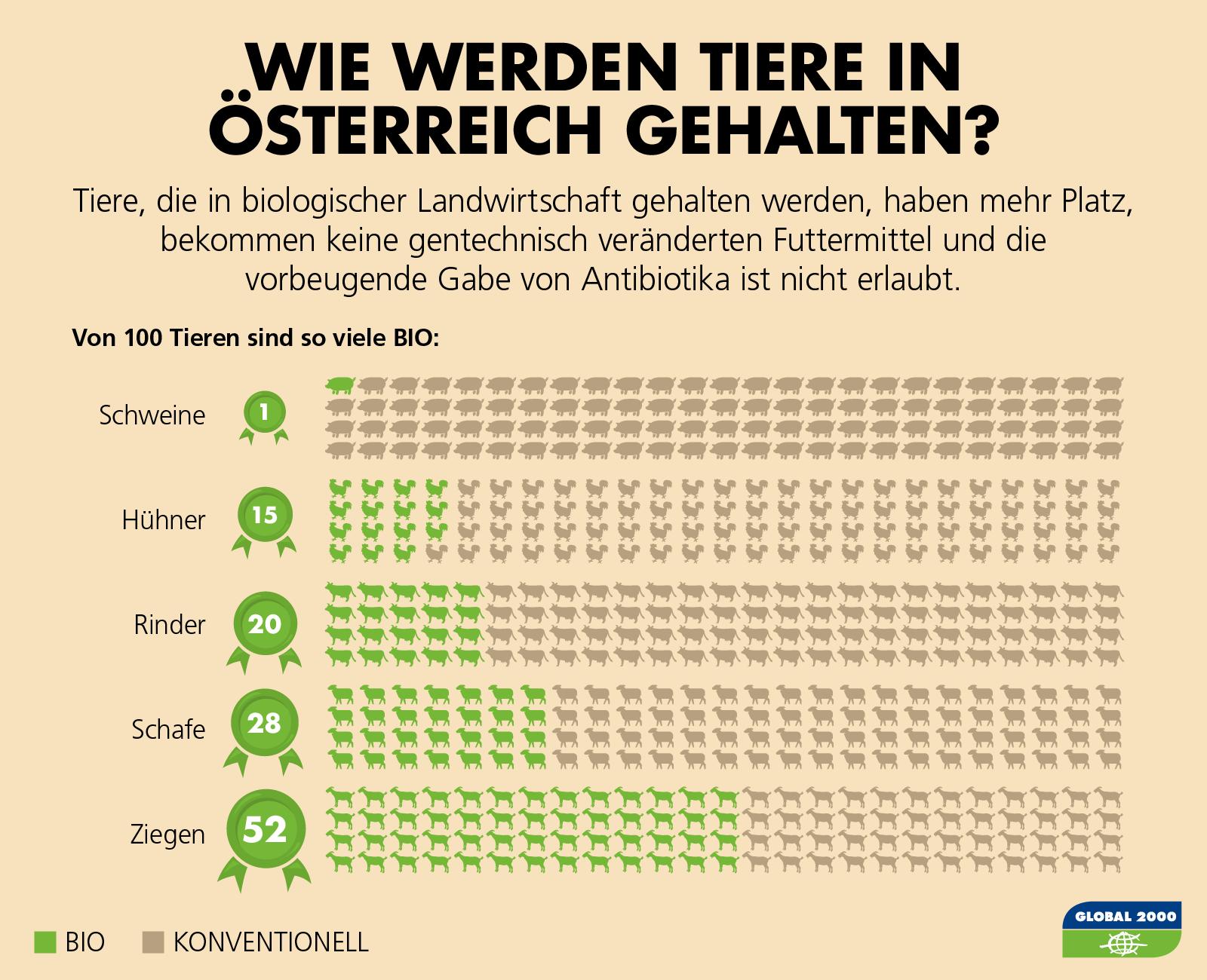 Nutztierhaltung in Österreich