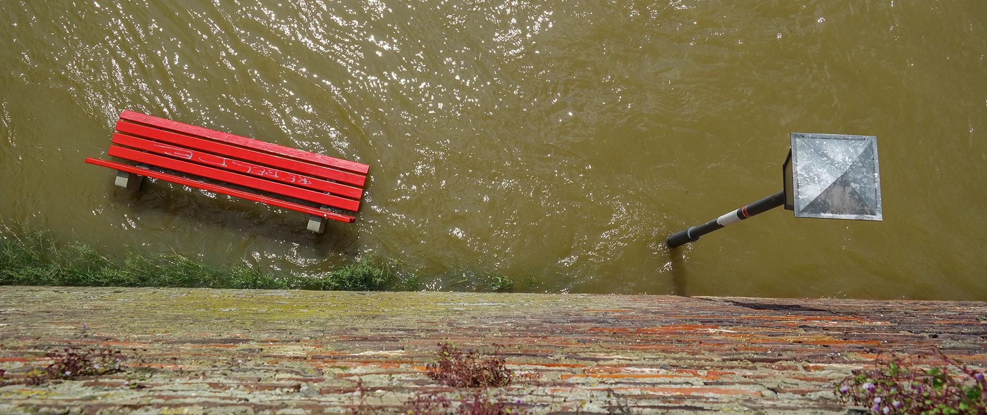 Der Klimawandel führt öfter zu Hochwasser