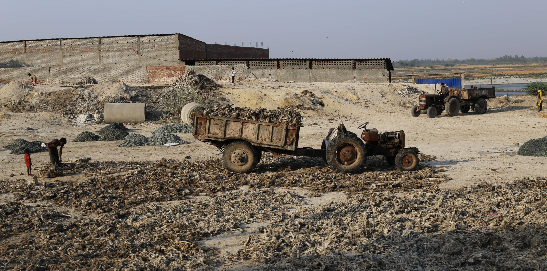 Umweltbelastung durch Lederproduktion in Indien