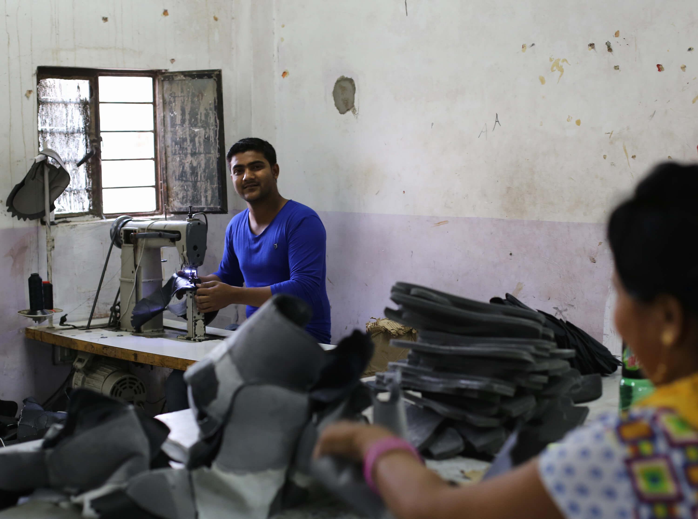 Schuhproduktion in Indien