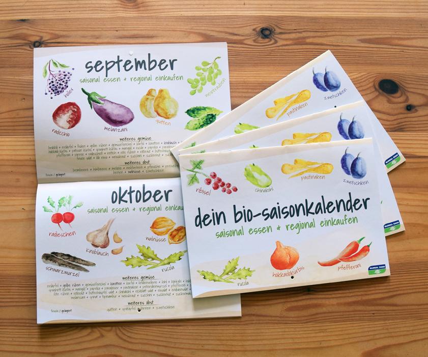 Bio-Saisonkalender