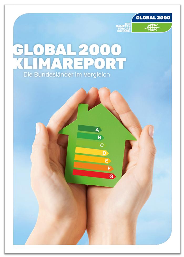 GLOBAL 2000 Klimareport Cover
