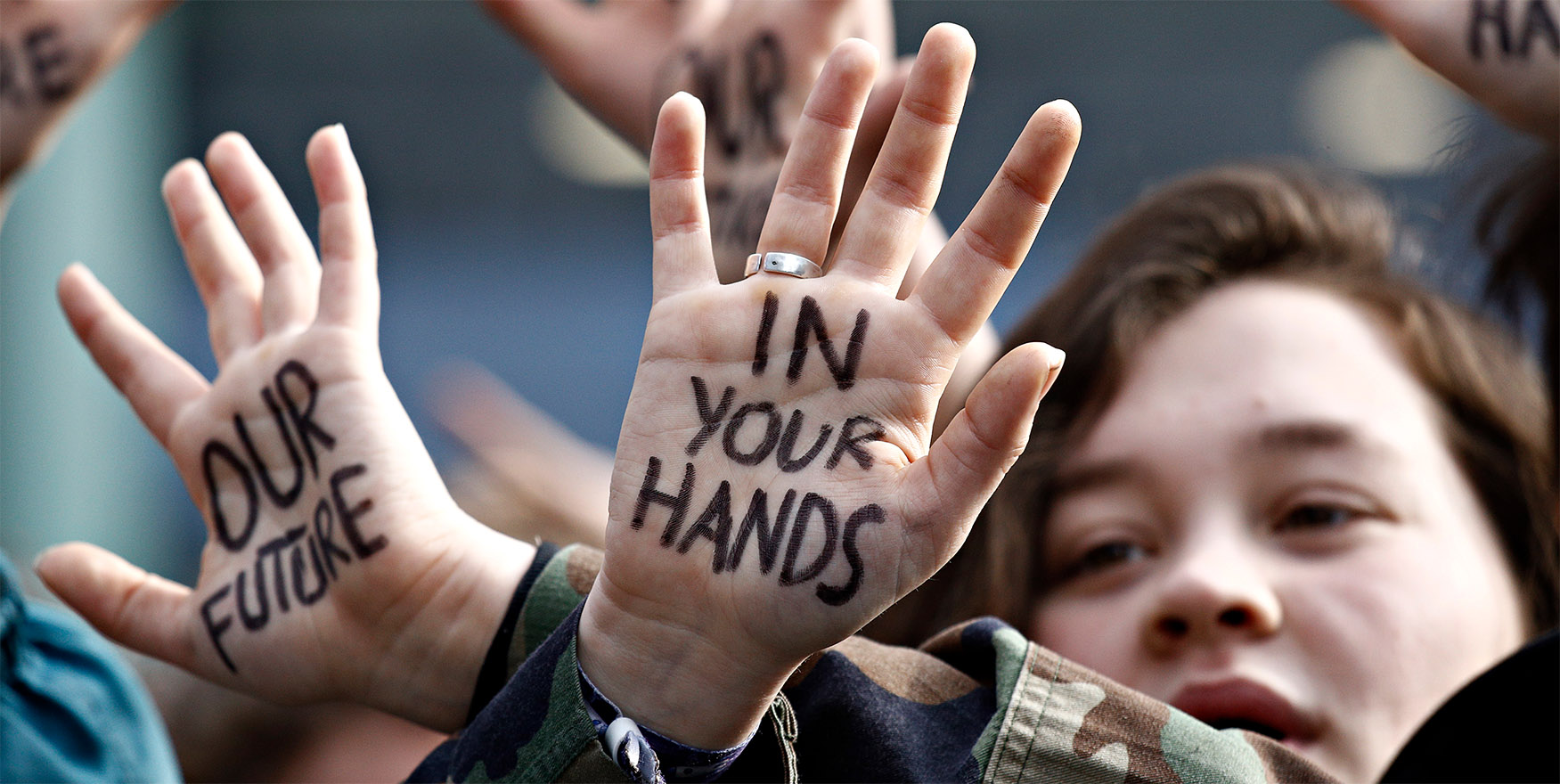 Klimademo - Kinder demonstrieren für ihre Zukunft