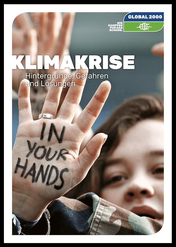 Cover der Klimabroschüre