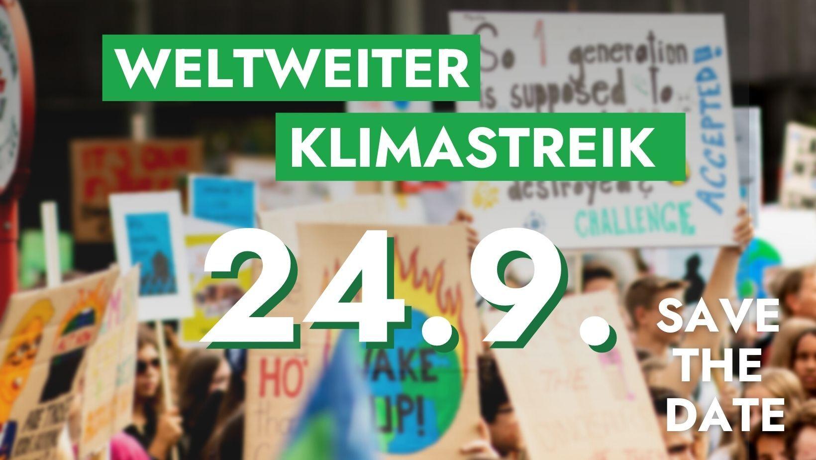 Weltweiter Klimastreik 2021