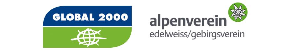 GLOBAL 2000 und der Alpenverein Gebirgsverein / Edelweiss