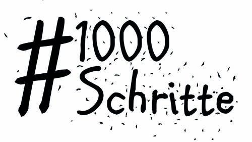 Logo 1000 Schritte
