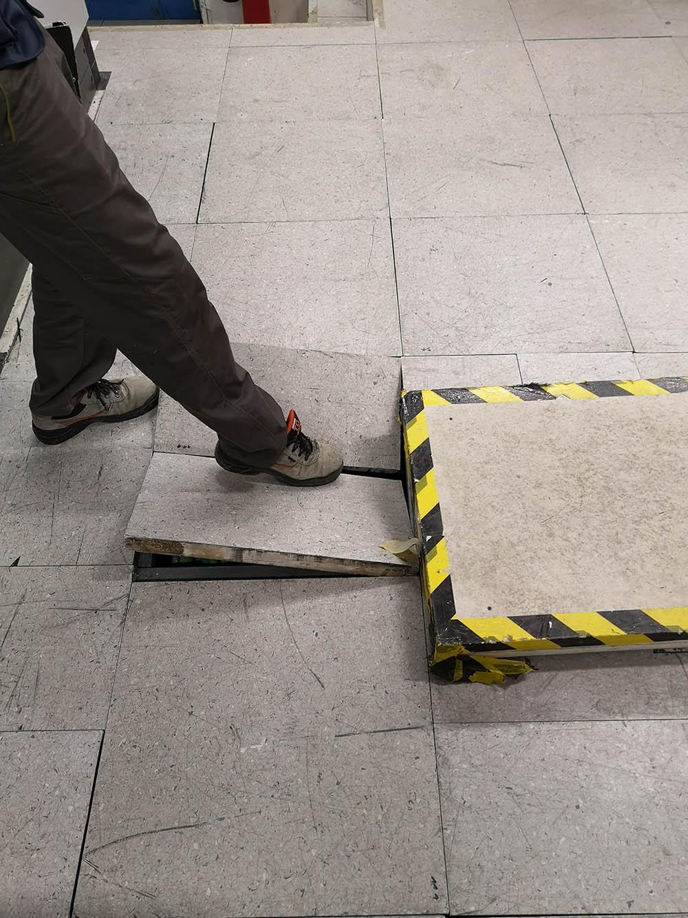 Kaputte Bodenplatten im AKW Mochovce 3