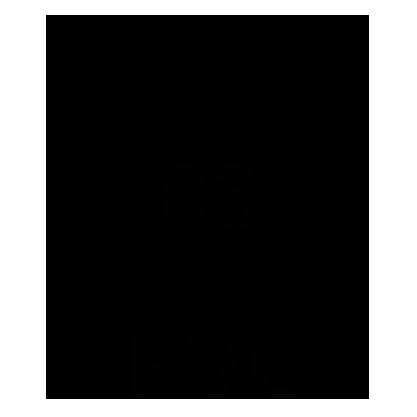 Recycling-Code 03 PVC