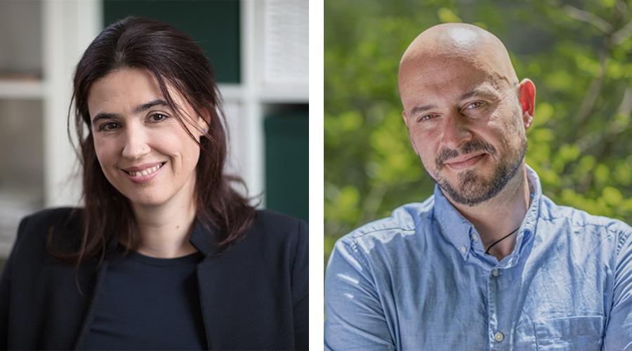 Lydia Matzka-Saboi und Thomas Geiger