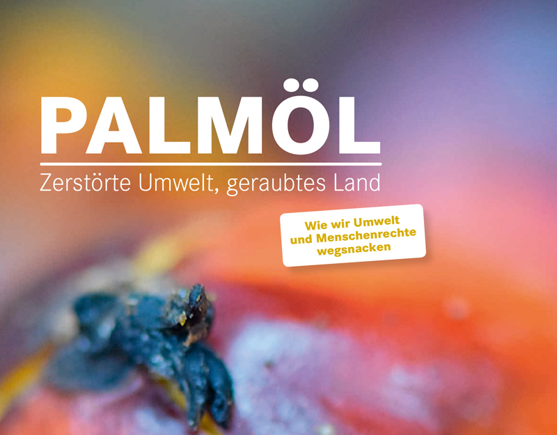Palmöl Report Coverbild