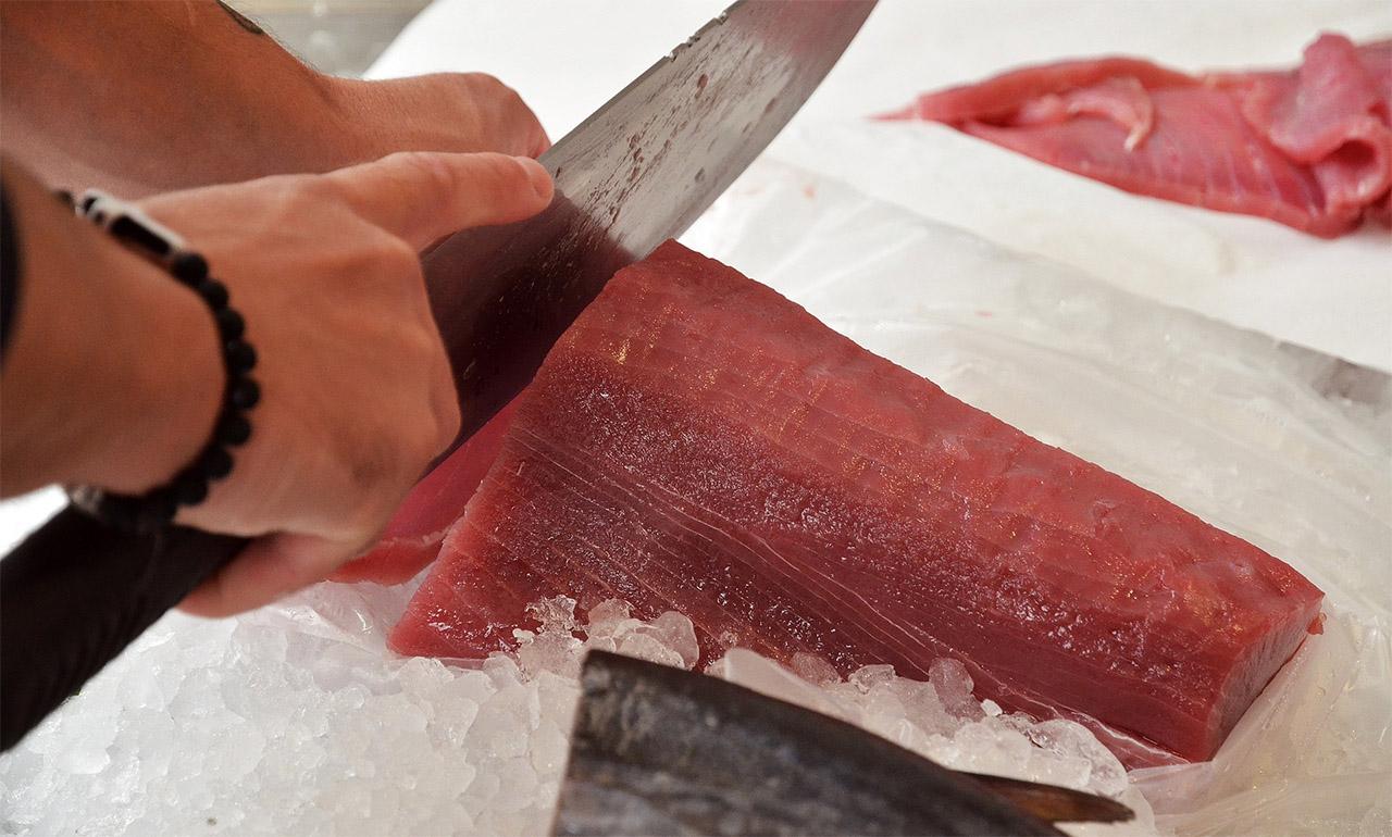 Thunfischfleisch