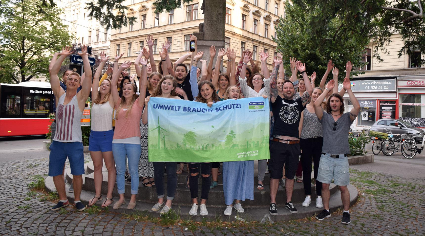 Gruppenfoto Umweltkulturpraktikum Sommersemester 2017