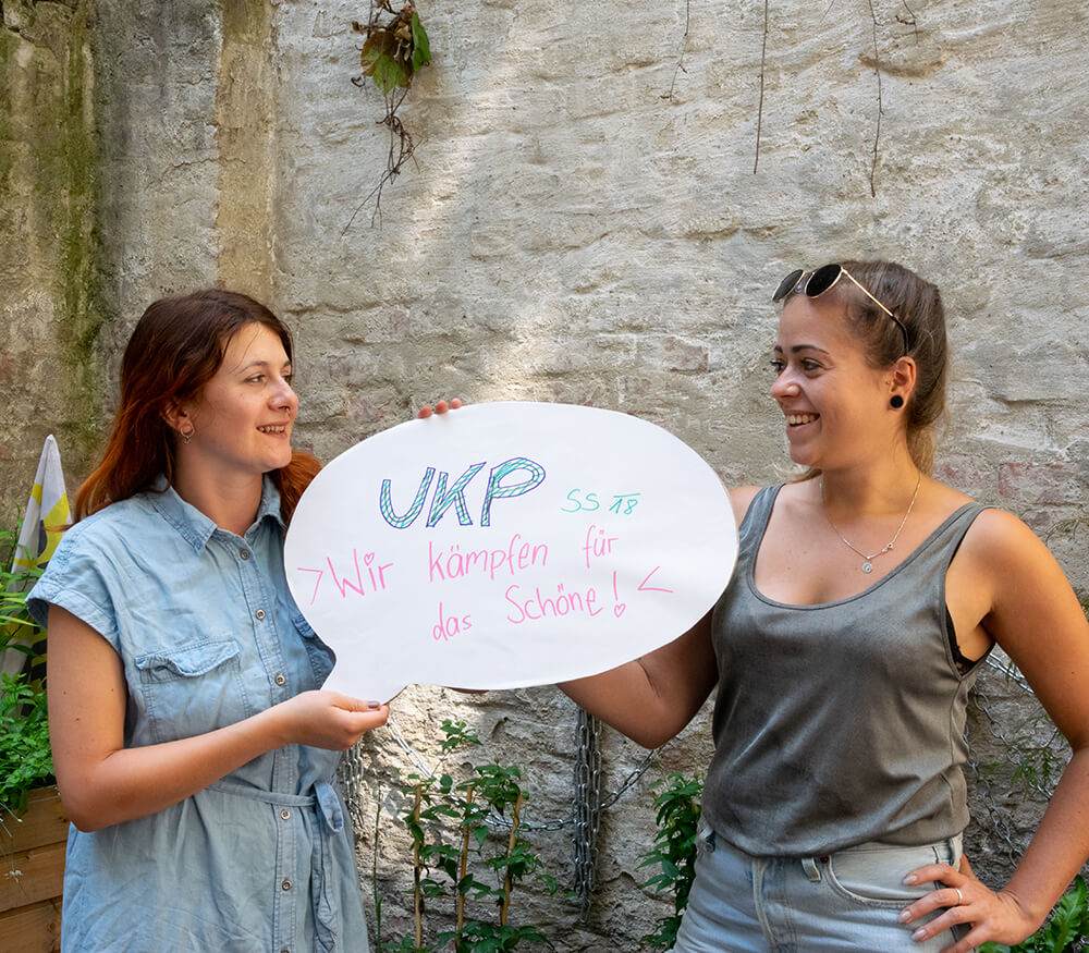 Anna & Johanna vom UKP SS18