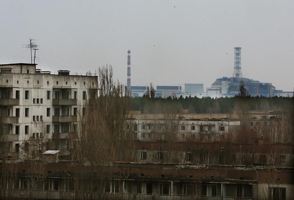 Geisterstadt rund um das AKW Tschernobyl