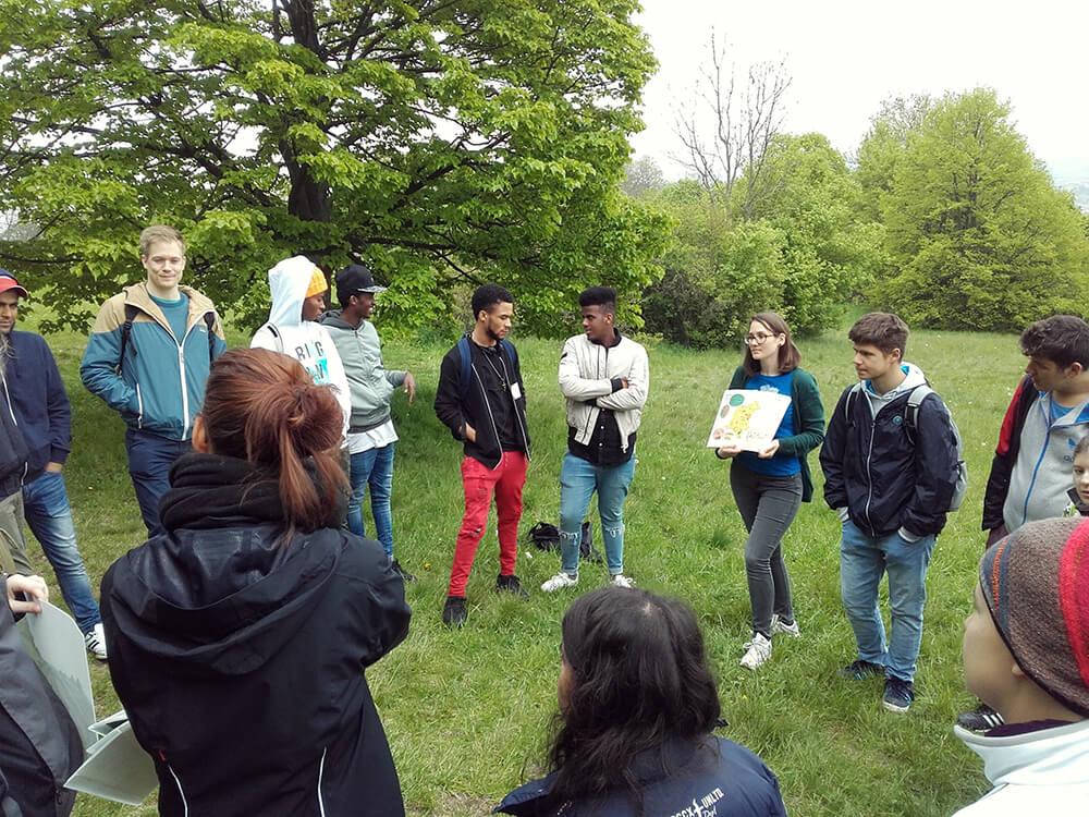 Workshop im Biosphärenpark