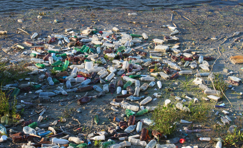Plastikmüll in der Umwelt