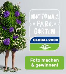 Fotowettbewerb Nationalpark Garten Banner