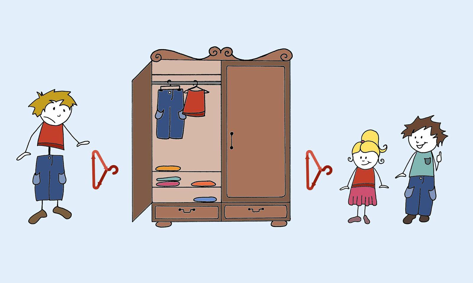 Der offene Kleiderschrank - so funktioniert's