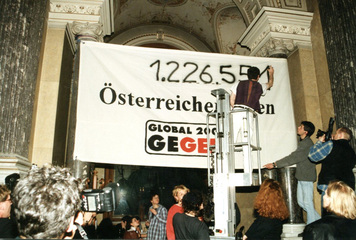 1.226.551 Stimmen gegen Gentechnik beim Gentechnik-Volksbegehren 1997