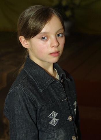 Julia J. als Kind