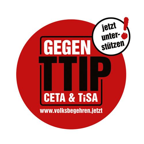 Volksbegehren gegen TTIP, CETA & TiSA