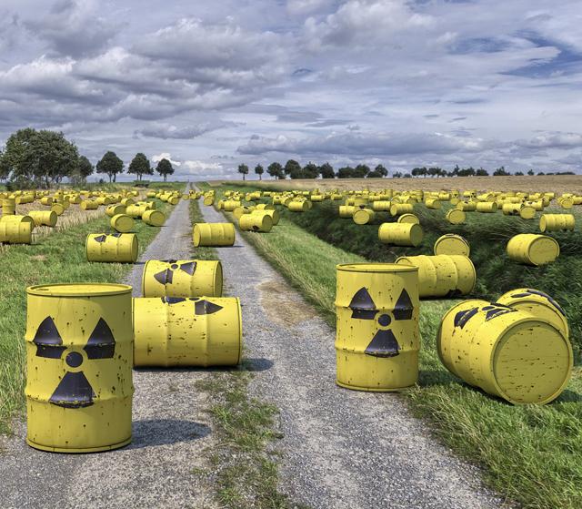 Atommüll Fässer