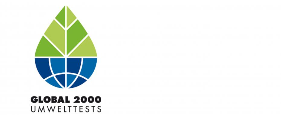 GLOBAL 2000 Umwelttests Logo