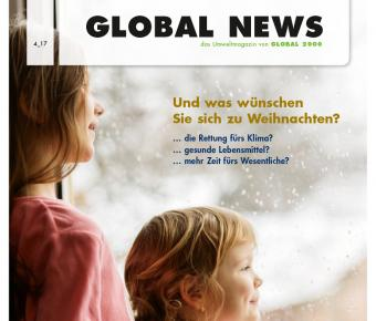 GLOBAL NEWS Titelblatt