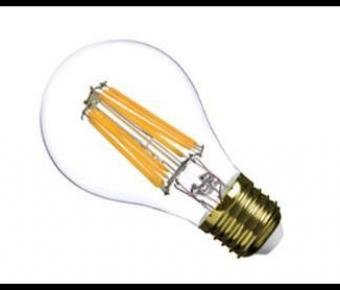 Example of new generation LED filament lamp with very high performance