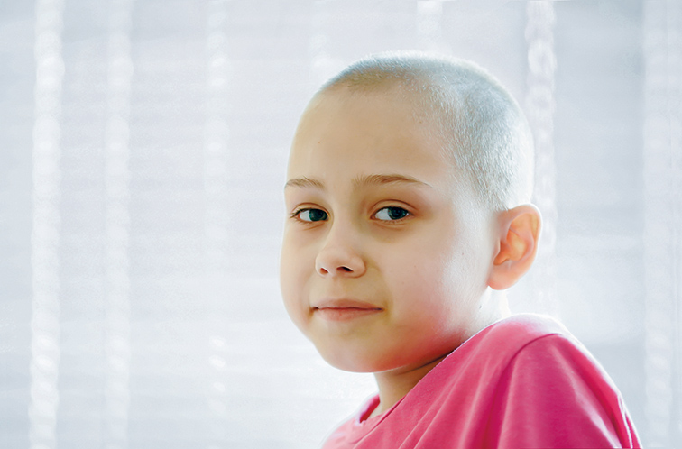 Krebskrankes Tschernobylkind
